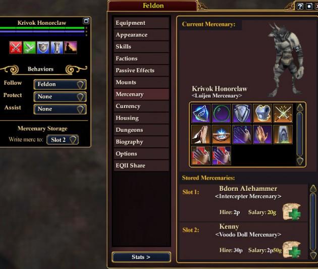 EQ2Wire » On Beta: Mercenary Unlocks — Gotta Collect Em All!