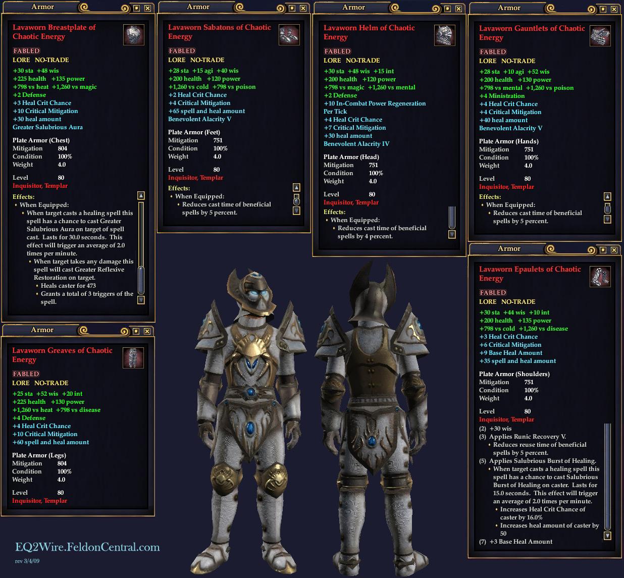 EQ2Wire » T3 Void Shard Armor Screen Shots