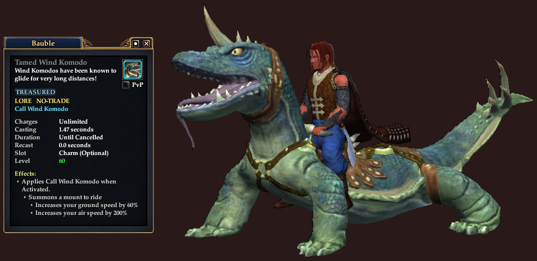 EQ2Wire » New Mounts Leap and Glide into EQ2