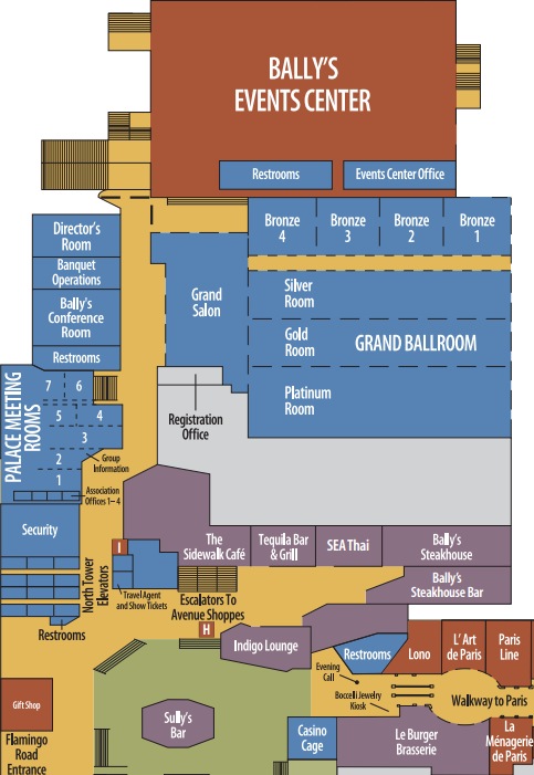 Ballys Casino Map 1 Slots Online