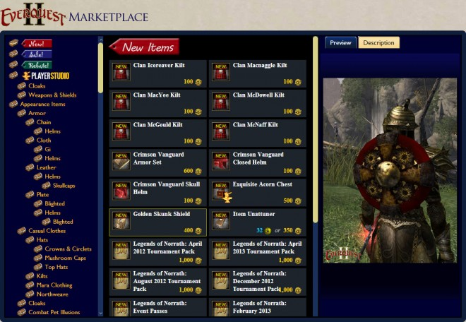 EQ2U Browse the EQ2 Marketplace Anywhere! | EverQuest 2 Forums