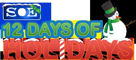 12DaysofHolidays_2012_Logo