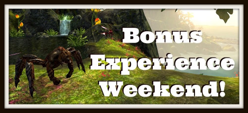 bonusxpweekend