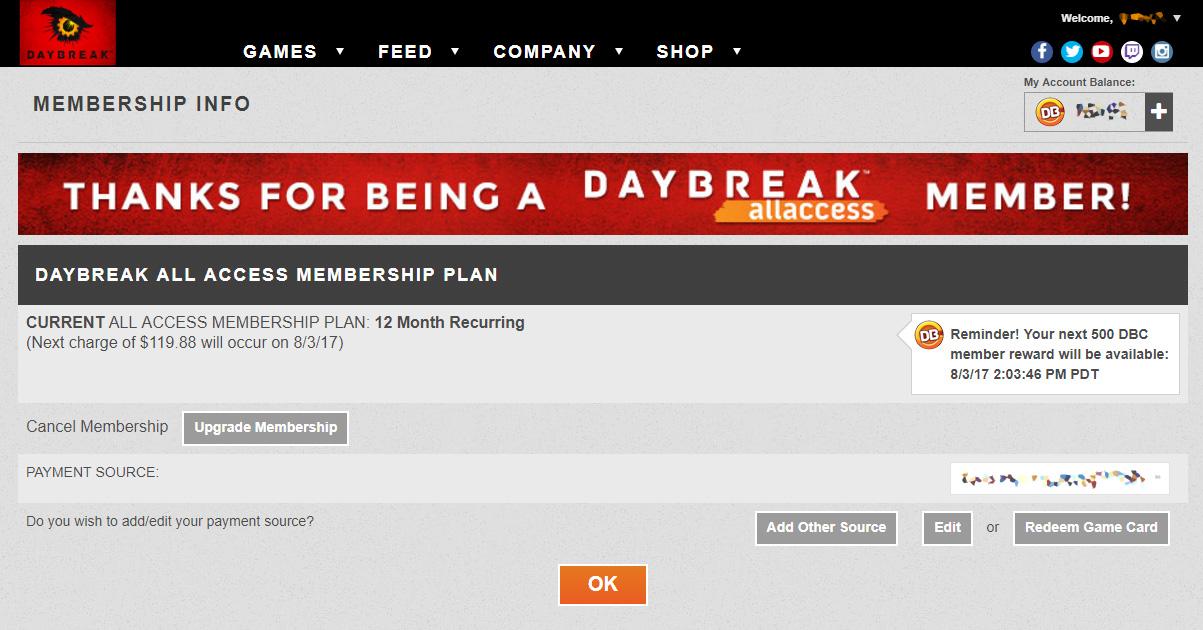 Daybreak Cash Bonus Code 2019